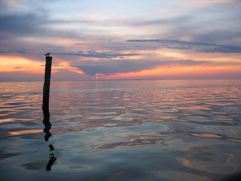 Wie ruhig und friedlich die Nordsee doch sein kann