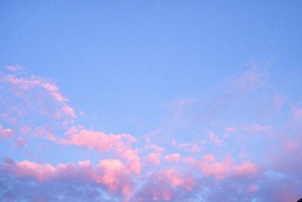 Wie schön doch der Himmel ist...