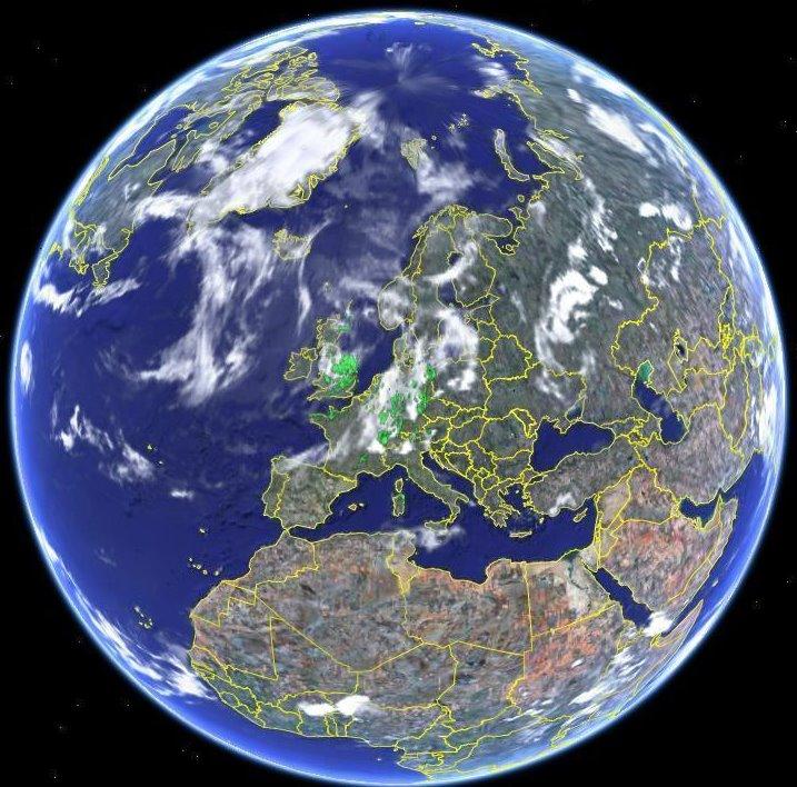 Wie sch n ist doch unser planet erde foto bild himmel for Bodentypen der erde