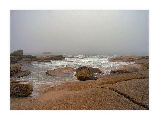 Wie schön ist meíne Bretagne, wenn sie regnet....