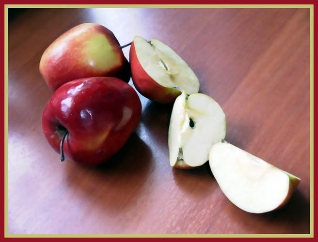 Wie war dass noch mal???? iss jeden Tag einen Apfel so wird dein Leben lange währen?