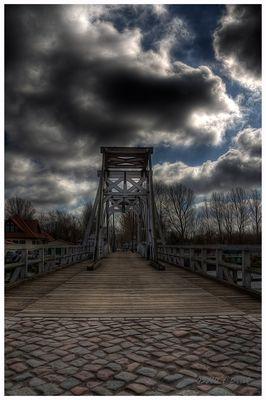 Wiecker Holzklappbrücke