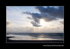 wieder ein Abend am Strand