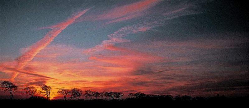 wieder ein Sonnenuntergang