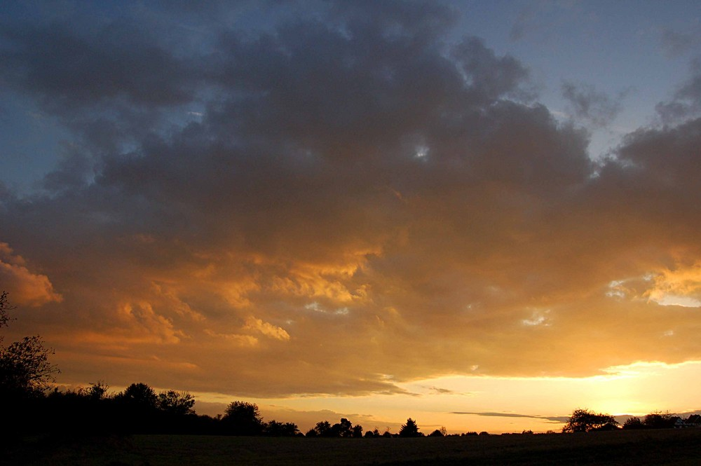 ....wieder ein Sonnenuntergang