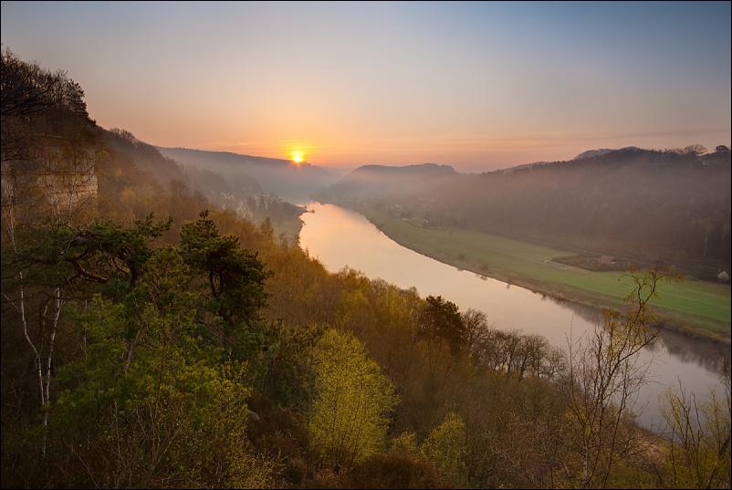 Wieder einmal ein Sonnenaufgang...