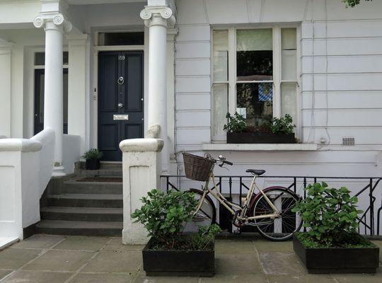 Wieder einmal eine Tür in London