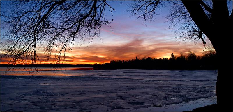 Wieder mal ein Sonnenuntergang...