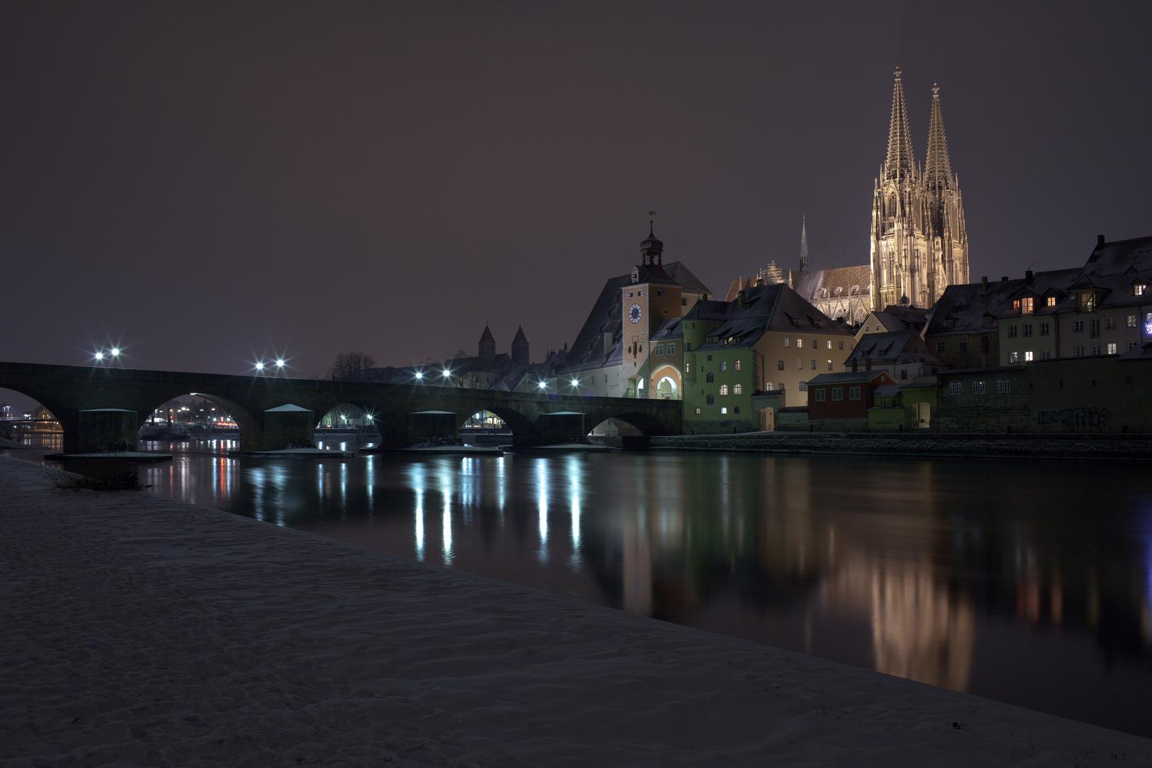 Wieder mal Regensburg - im Winter - und saukalt (beim fotografieren)