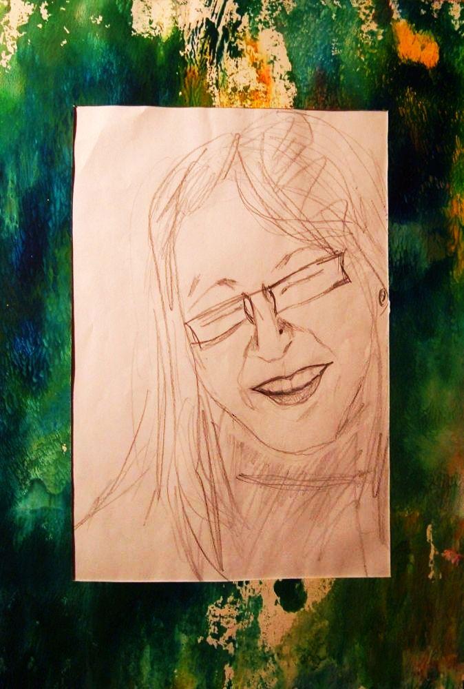 Wieder Selbportrait von 2002