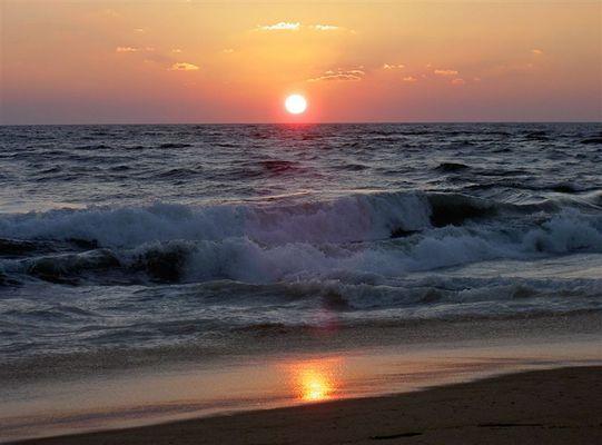 wieder so ein typischer Sonnenuntergang