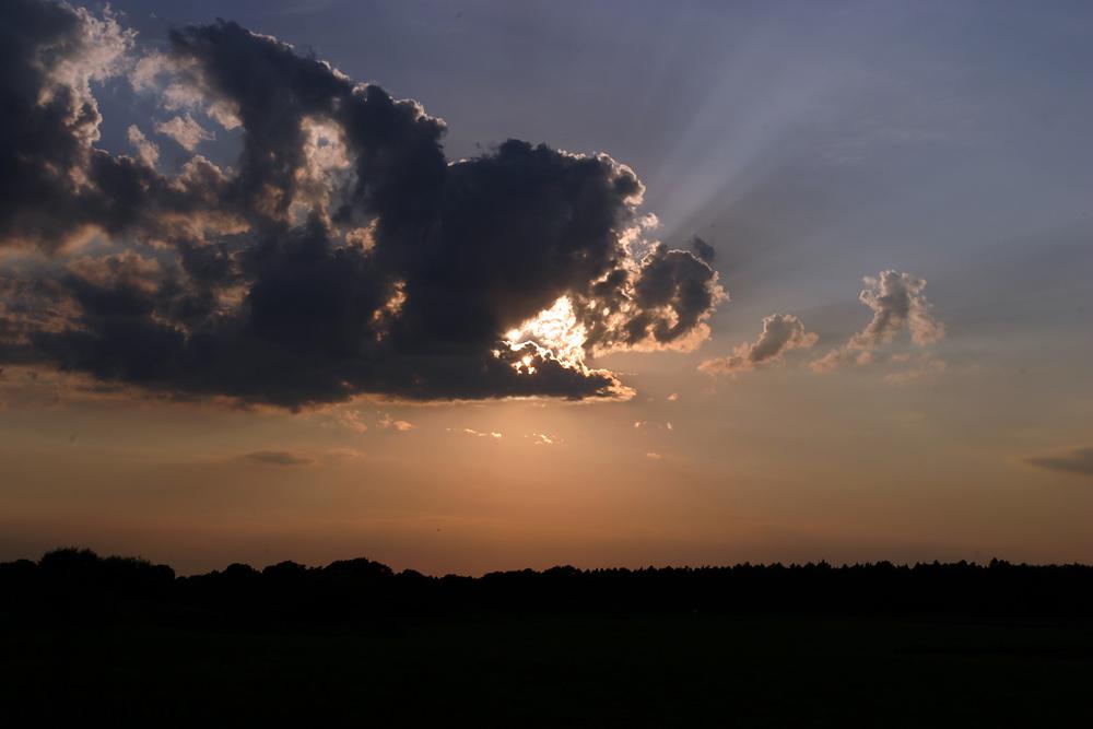 Wiemerskamper Sonnenuntergang 01