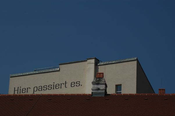 Wien 2011 - Hier passiert es ...