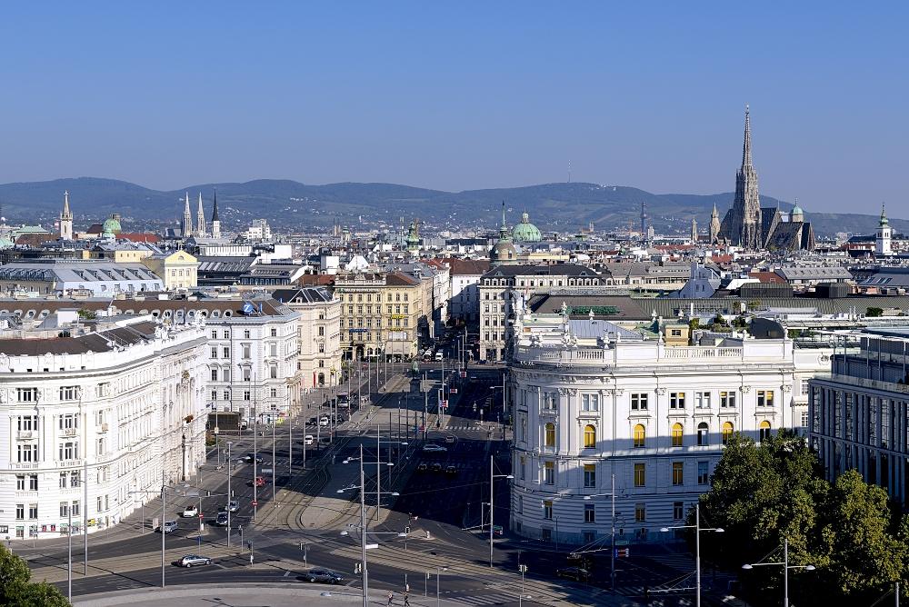 Wien am Sonntagmorgen