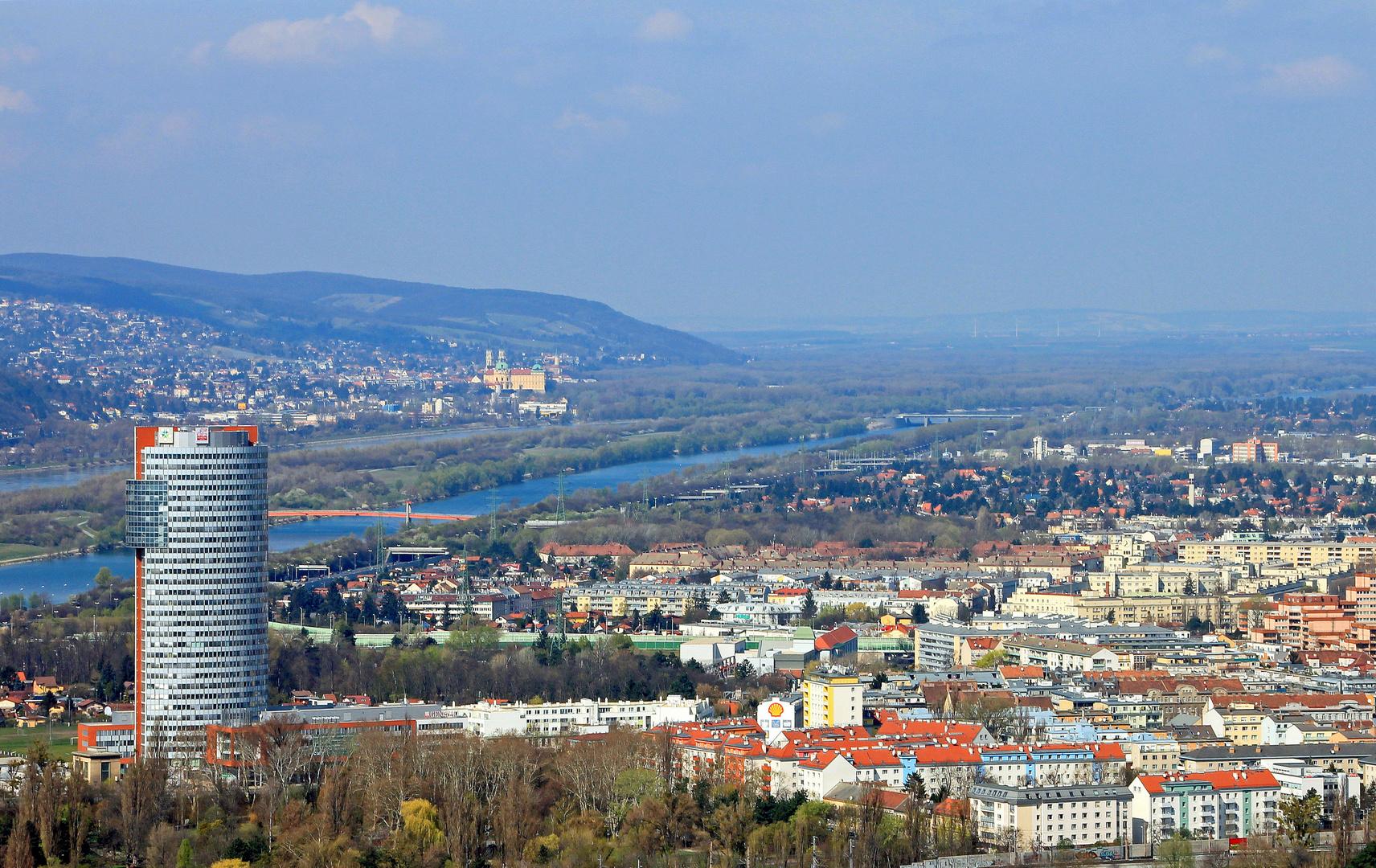 Wien, Aussicht vom Donauturm