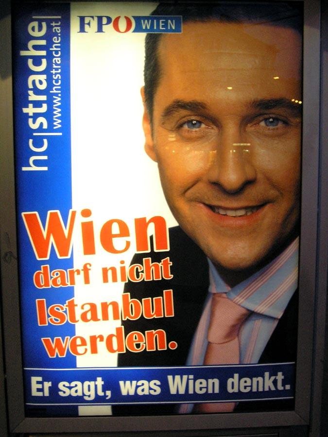 """""""Wien darf nicht Istanbul werden"""""""