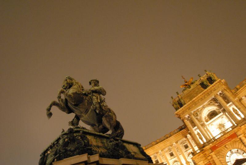Wien Hofburg Heldenplatz