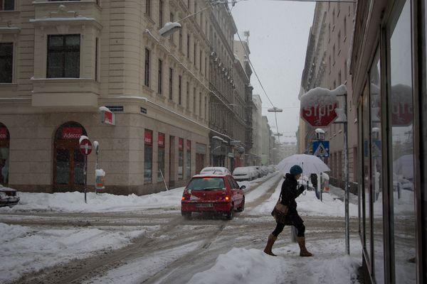 wien im winter 2