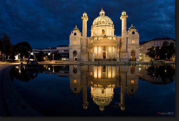 << Wien - Karl´s Kirche >>