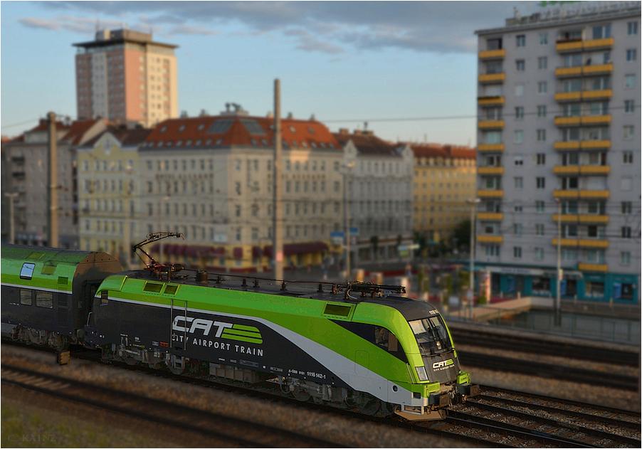 Wien Matzleinsdorf im Modell
