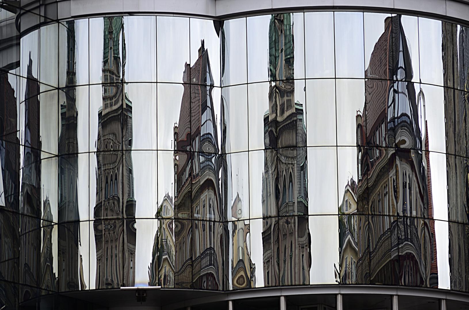 Wien moderne und alte Architektur
