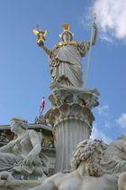 Wien -Pallas-Athene-Brunnen-