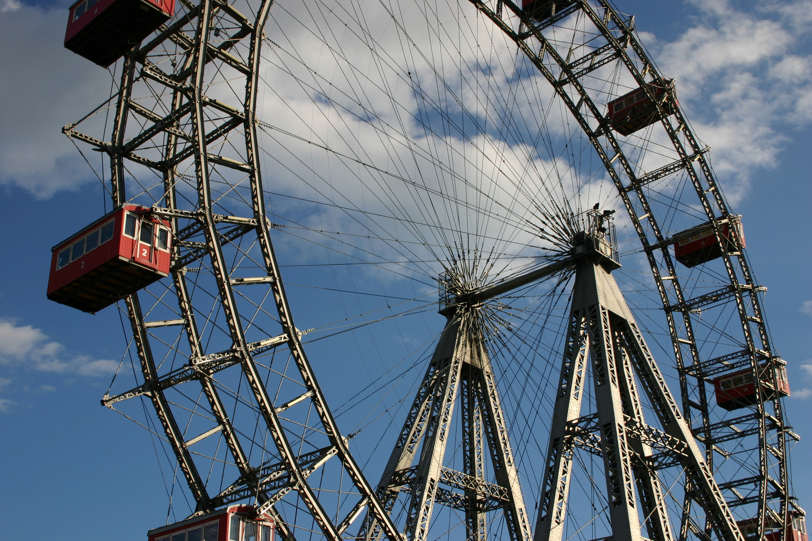 Wien -Riesenrad im Wiener Prater-