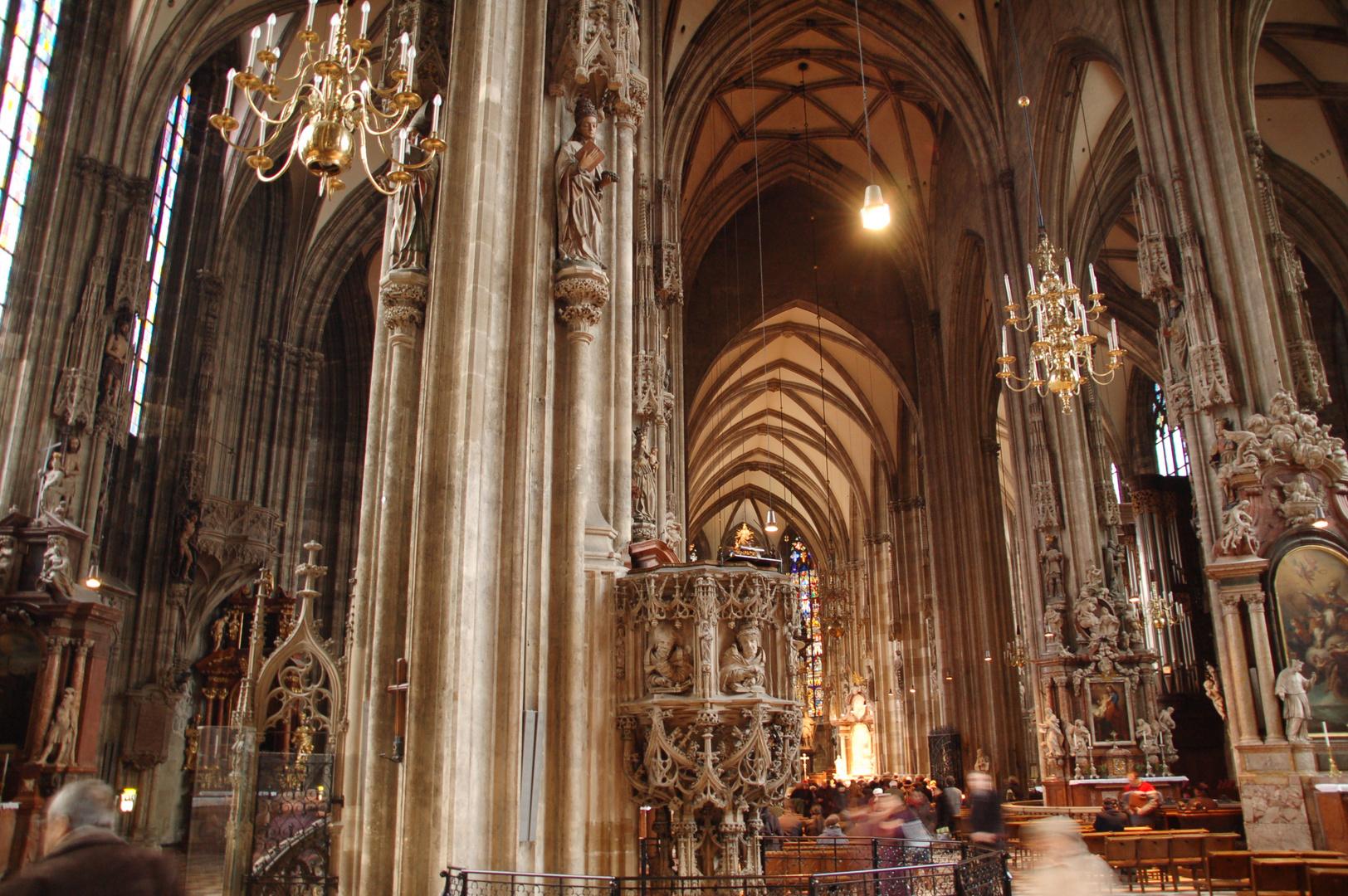 Wien - Stephansdom - hier spukts - GEISTER!