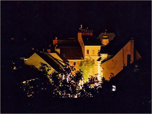 Wiener Neustadt bei Nacht