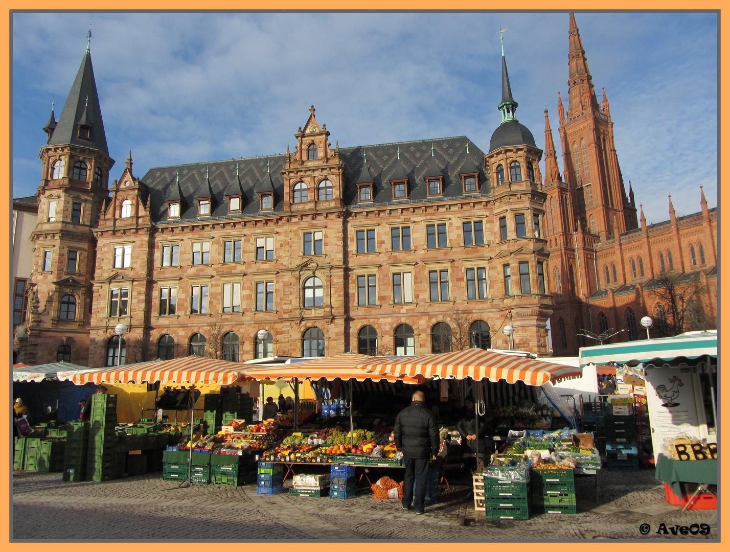 Wiesbaden, eine faszinierende hessische Stadt