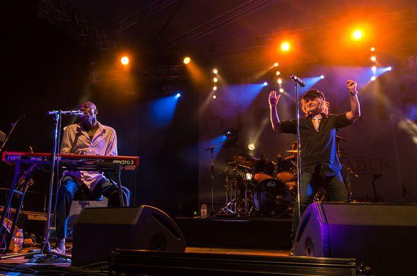 Wiesbaden Stadtfest 2013 - Auftritt von Mike & The Mechanics
