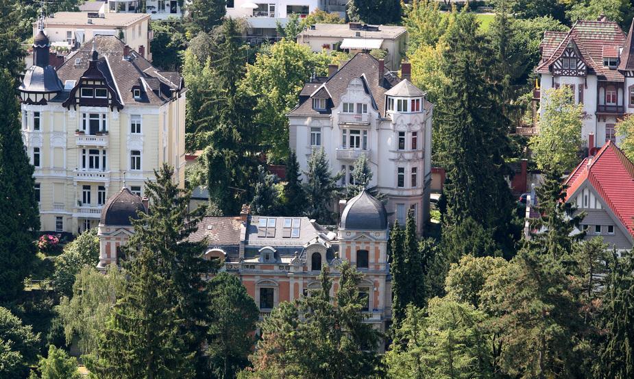 Wiesbaden vom Neroberg aus gesehen
