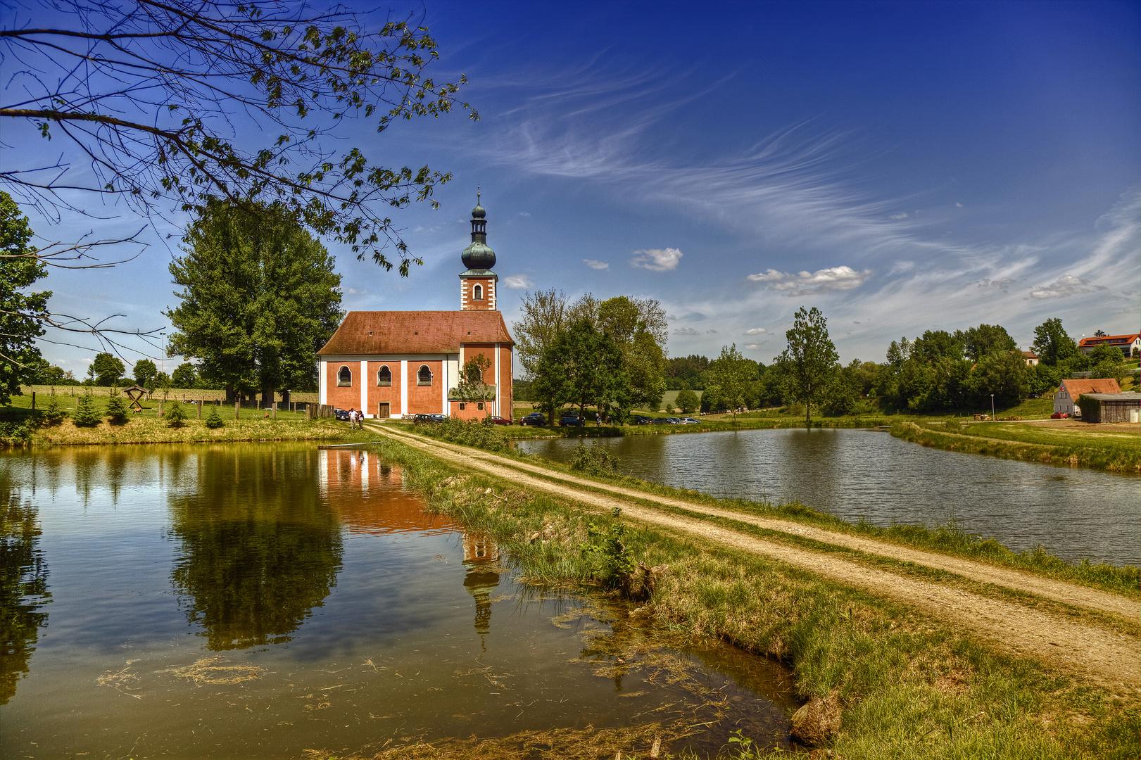 Wieskirche in Moosbach/Oberpfalz