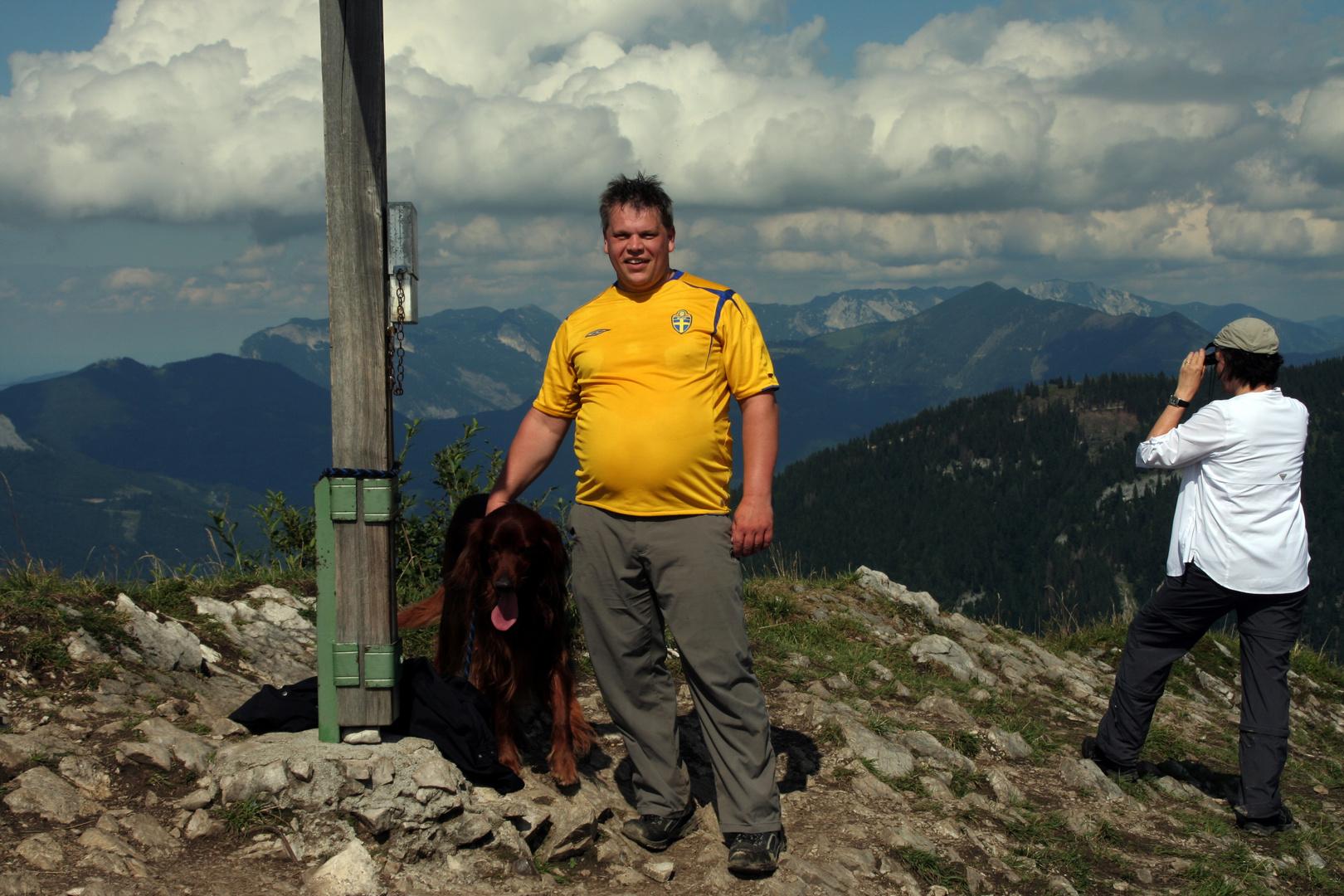 Wieslerhorn Gipfel
