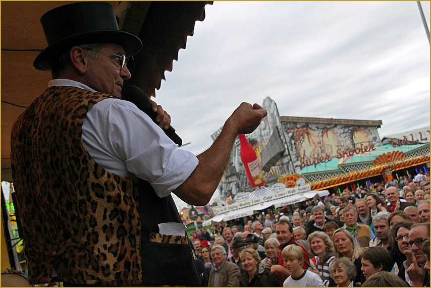 WIESN 2012: Schichtl  ... in Muenchen