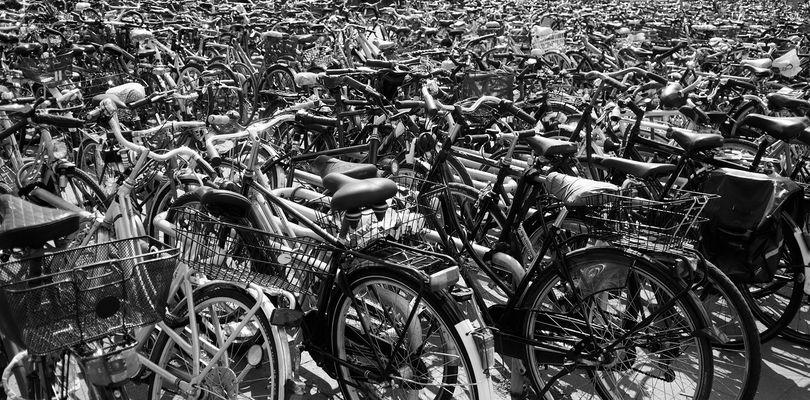 wieviel Quadratmeter Fahrrad dürfen es denn sein ...