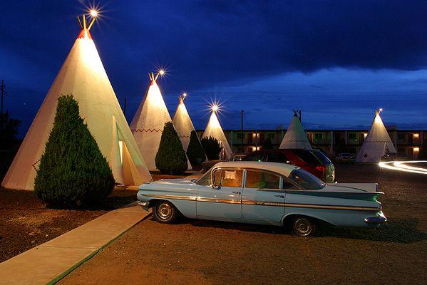 Wigwam Motel in Holbrook (Az)