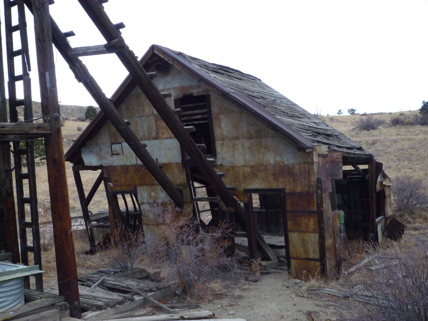 Wild West 1880 - Abandoned Gold mine near Central City
