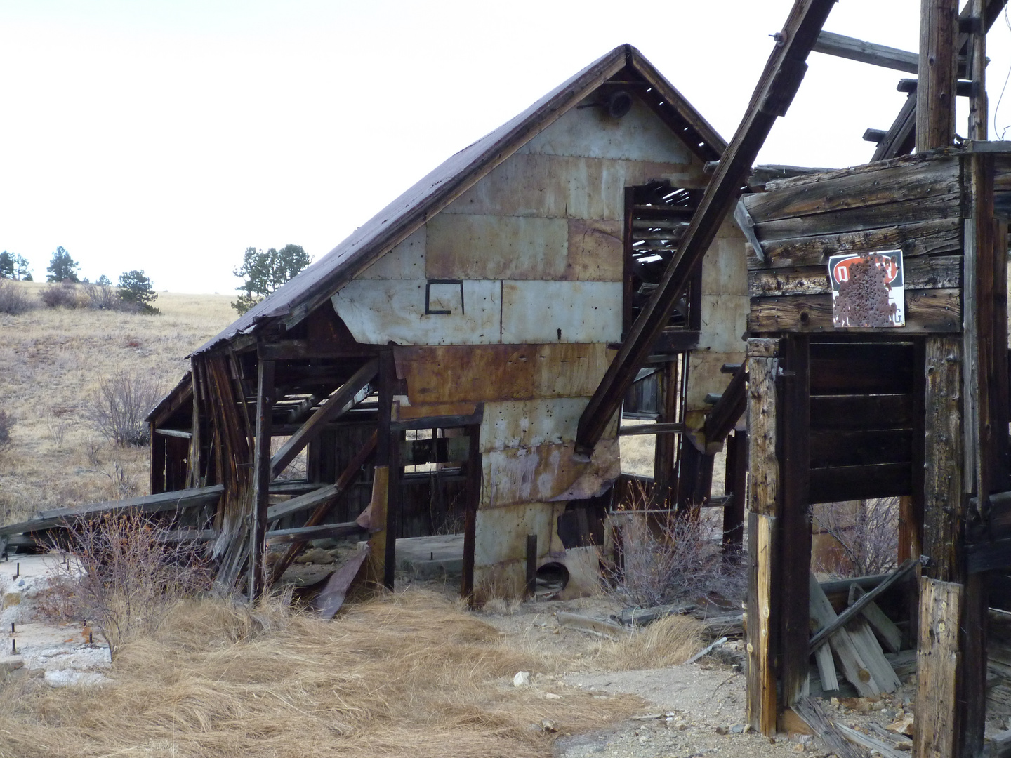 Wild West 1880 - Abandoned Gold mine near Central City (Comstock mine)