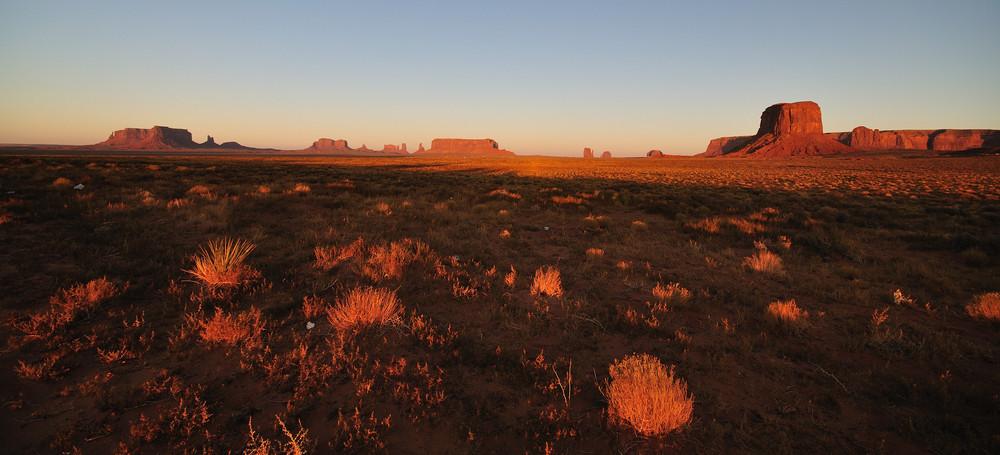 Wild West Sunset