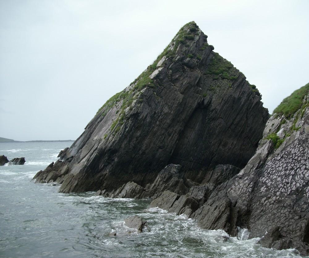 wilde irische Küste