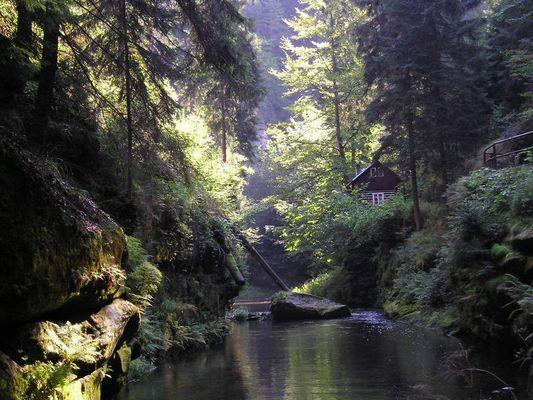 Wilde Klamm - Böhmische Schweiz