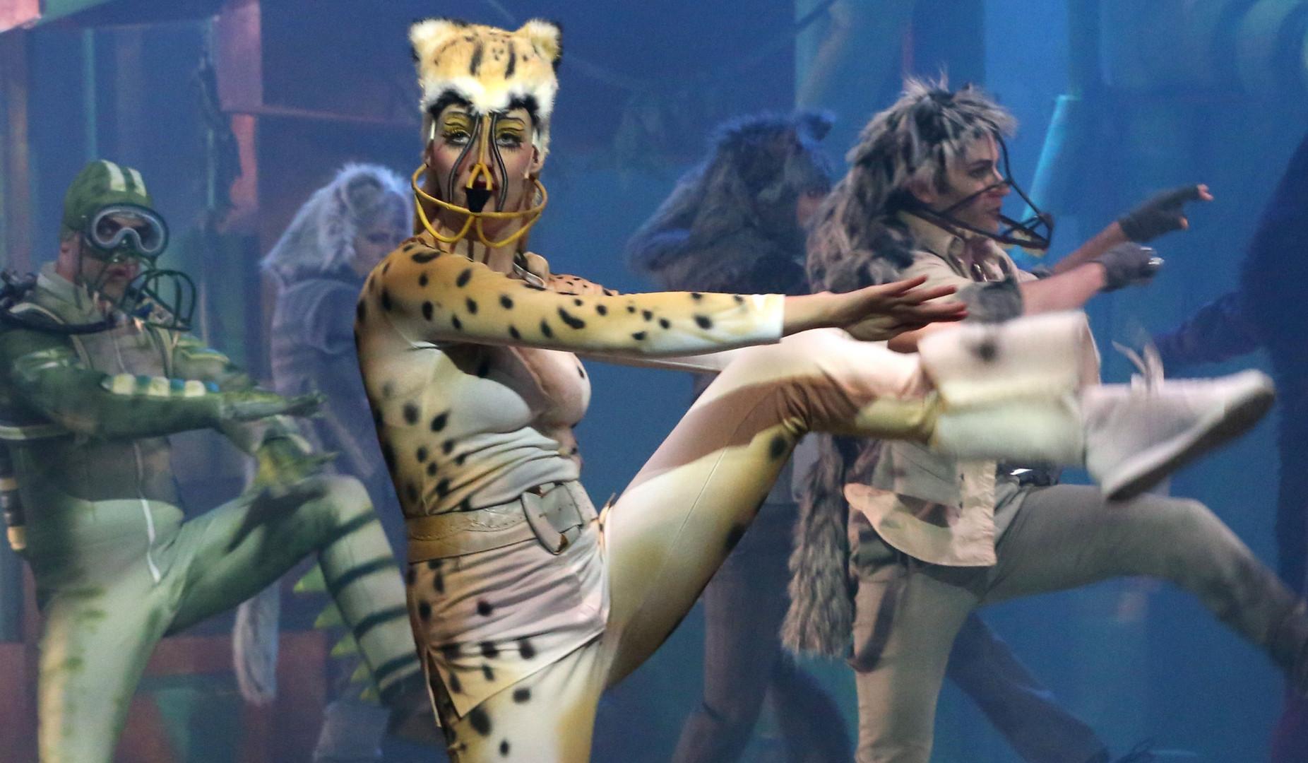 wilde tanz tiere  ( serie )