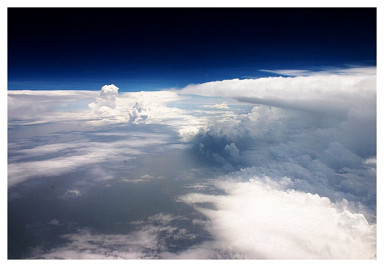 Wilde Wolken