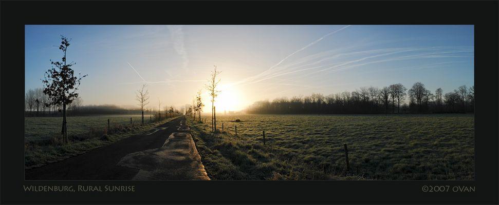 Wildenburg, Rural Sunrise