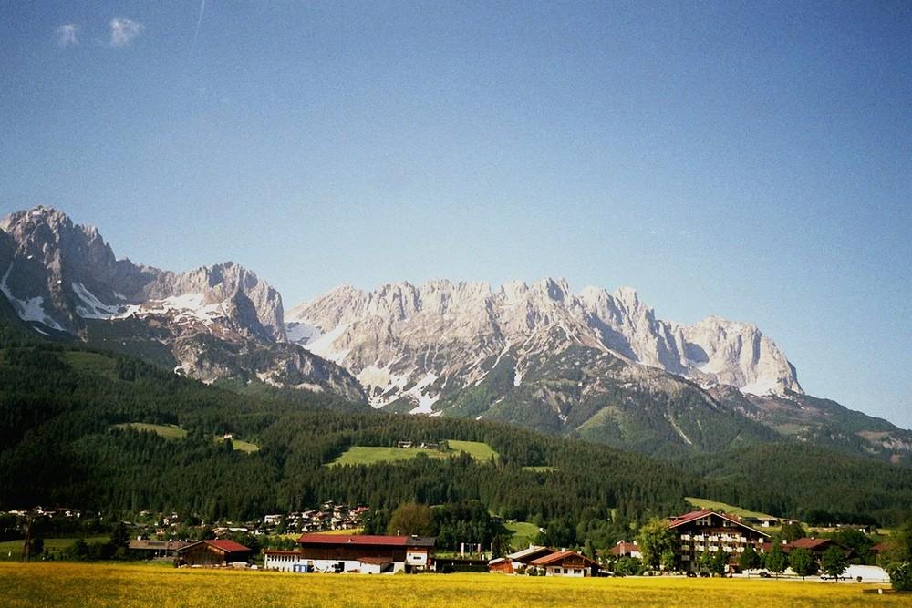 Wilder Kaiser...Gebirge