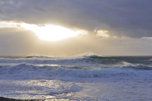 wildes Meer vor Lanzarote