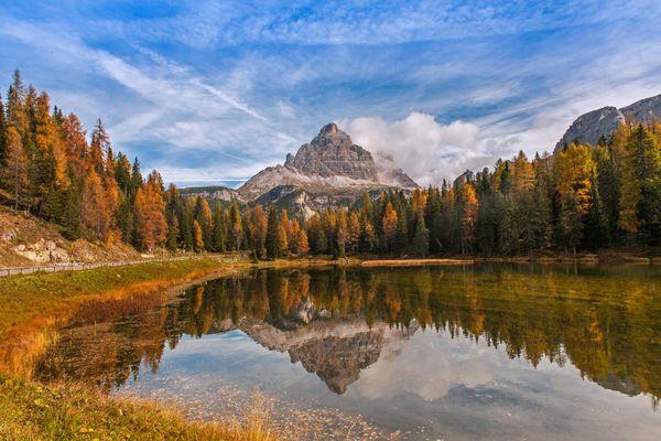 Wildes Südtirol - auf dem Weg zum Langkofel