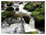 Wildwasser in der Ravennaschlucht