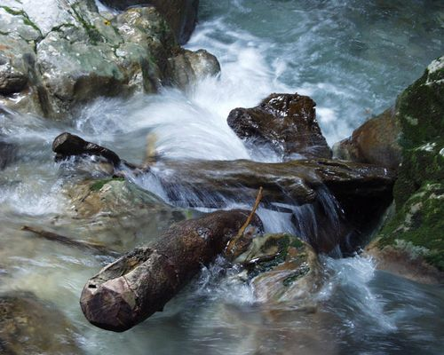 Wildwasser in Kaprun